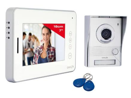 Chacon vidéophone couleur évolutif avec écran LCD 7