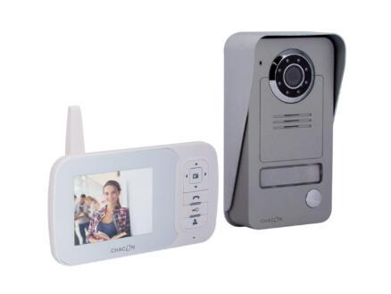 Chacon vidéophone sans fil digital 2.4GHz écran LCD 3.5