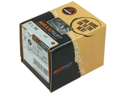 Maxxfast vis à bois universelles CST 5x30 mm inox 200 pièces