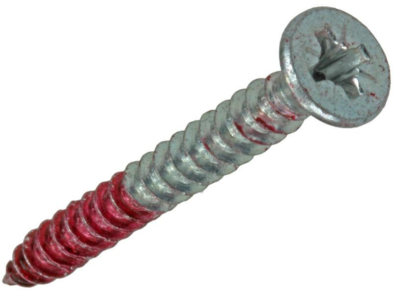 Rotadrill vis universelles PZ2 4,5x45 mm zingué 15 pièces