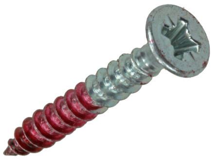 Rotadrill vis universelles PZ2 4x30 mm zingué 26 pièces