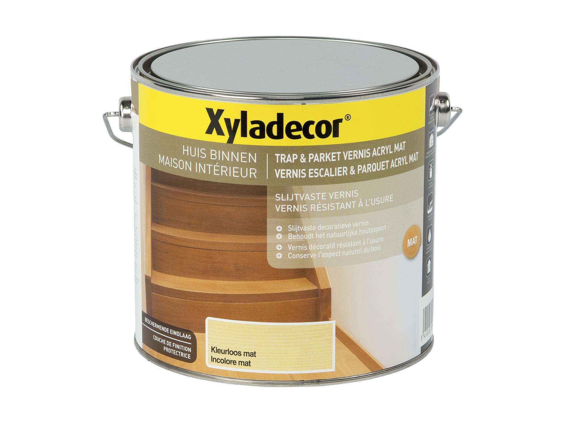 Vitrificateur Escalier Apres Peinture xyladecor vitrificateur escalier & parquet mat 2,5l