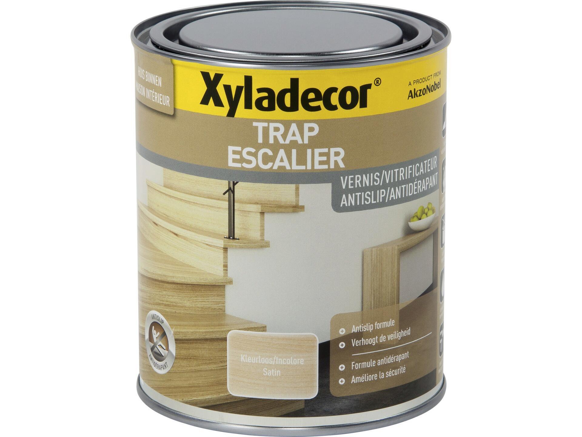 Antidérapant Pour Escalier En Bois xyladecor vitrificateur escalier antidérapant satin 0,75l
