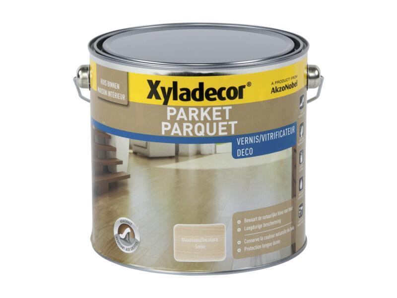 Xyladecor vitrificateur parquet à séchage rapide satin 2,5l