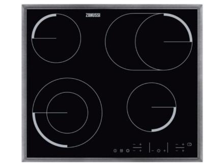 Zanussi vitrokeramische kookplaat met tiptoetsbediening 57cm 4 zones