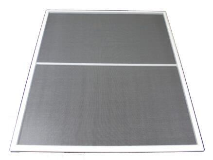 Stopinsect vliegenraam 100x120 cm wit