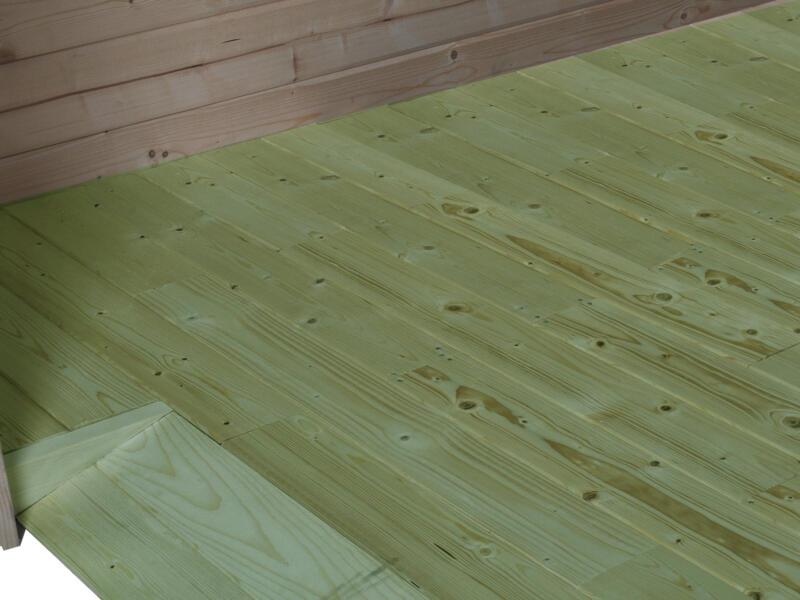 Gardenas vloer voor QB 300x300 cm geïmpregneerd