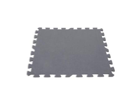 Intex vloerbeschermer 50x50 cm grijs 8 stuks