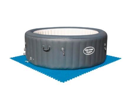 vloerbeschermer zwembad 50x50 cm blauw
