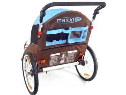 Maxxus vouwbare fietskar voor 2 kinderen