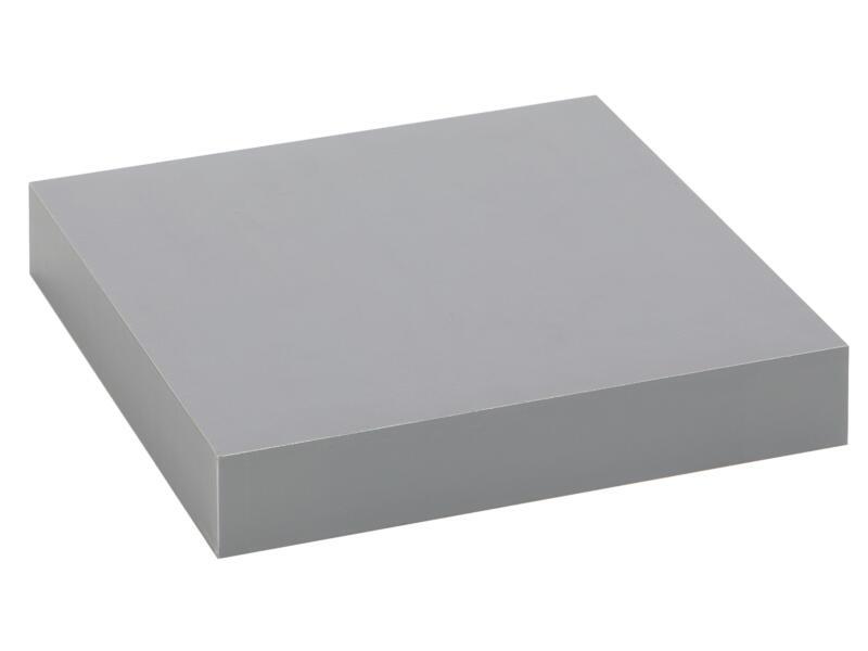 Practo Home wandtablet 23cm blinkend grijs
