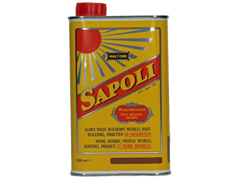 Sapoli was waterafstotend 500ml bruin