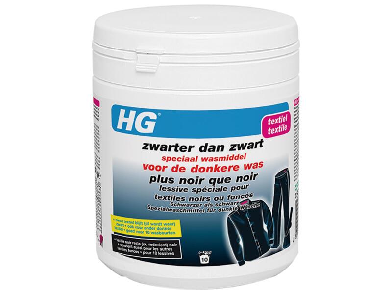 HG wasmiddel zwarter dan zwart 500g