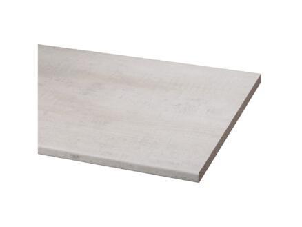 CanDo werkblad 29mm 182x60 cm sloophout wit