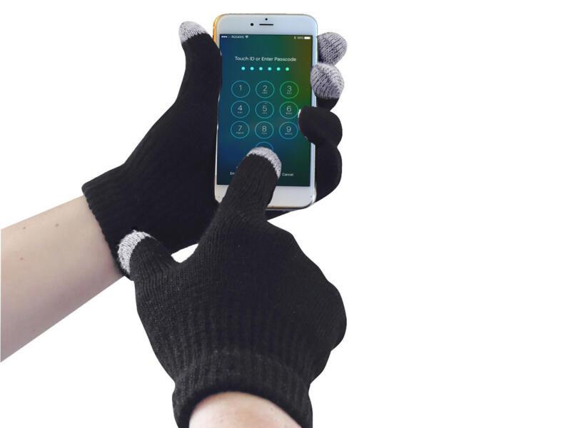 Portwest werkhandschoenen touchscreen L/XL acryl zwart