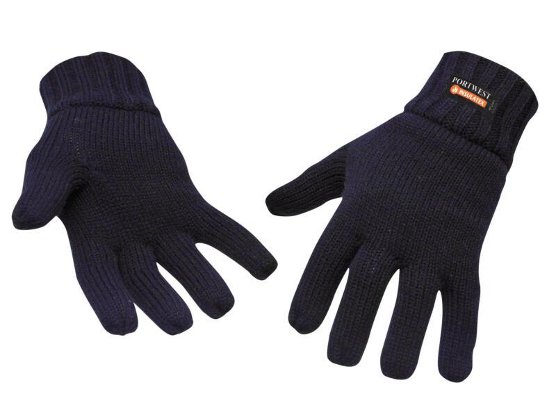 Portwest winterhandschoenen thinsulate blauw