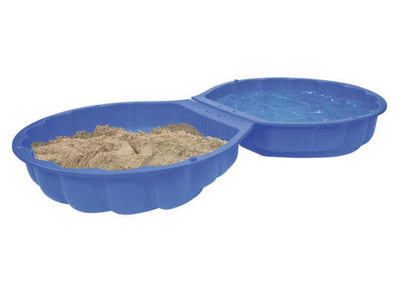Intex zandbak schelp groot 180x87 cm blauw