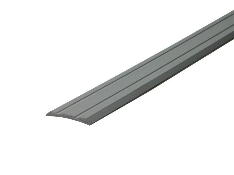 Arcansas zelfklevend overgangsprofiel 180cm 25mm geanodiseerd aluminium mat