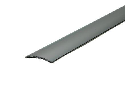 Arcansas zelfklevend overgangsprofiel 90cm 30mm geanodiseerd aluminium blinkend