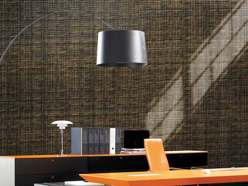 Linea Wall zelfklevende folie 90cm x 3m textile gold